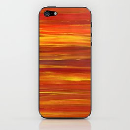Sunset stratum iPhone Skin