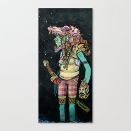 Nice Skull Canvas Print