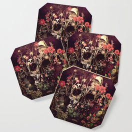 Bloom Skull Coaster