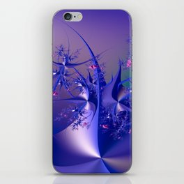 The dance of flowers iPhone Skin