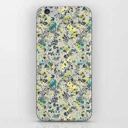 painted floral iPhone Skin
