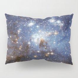 LH 95 stellar nursery in the Large Magellanic Cloud (NASA/ESA Hubble Space Telescope) Pillow Sham