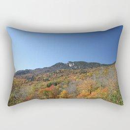 Autumn Forest under a Blue Sky, Horizontal Rectangular Pillow
