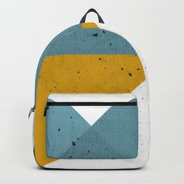 Modern Geometric 17 Backpack