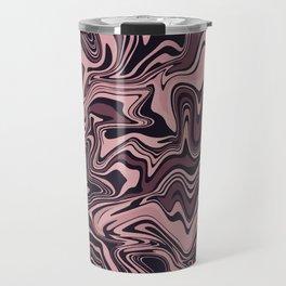Black Chocolate Agate Travel Mug
