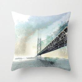 San Francisco, Bay Bridge Throw Pillow