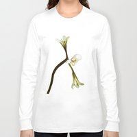 free shipping Long Sleeve T-shirts featuring wild geranium - Free shipping by Ordiraptus