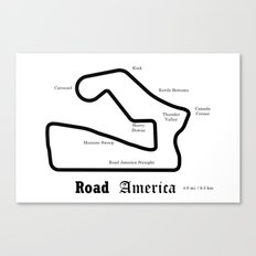 RennSport Shrine Series: Road America edition Canvas Print