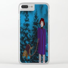 COME ALONG, LADY Clear iPhone Case