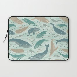 Whales Gathering II Laptop Sleeve