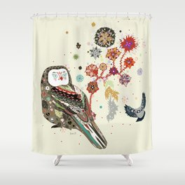 Owl wow Shower Curtain