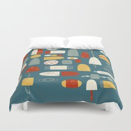 Oh Buoy! Duvet Cover