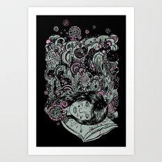 Irregular Sleeping Pattern Art Print