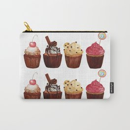 double row of cupcakes Carry-All Pouch
