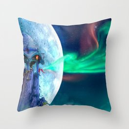 The Lightkeeper Throw Pillow