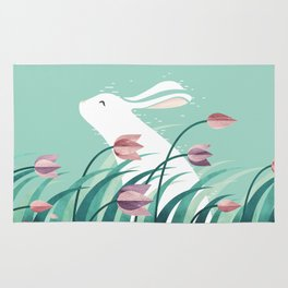 Rabbit, Resting Rug