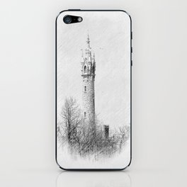 Water Tower-Victorian iPhone Skin