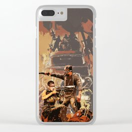 Max and Furiosa Clear iPhone Case