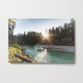 Bull Creek Flats Metal Print