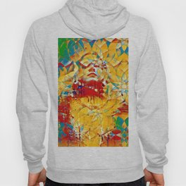 6759s-KMA The Woman in the Stained Glass Sensual Feminine Energy Emerging Hoody