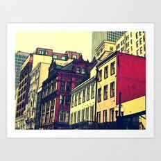 New Orleans Brick Art Print