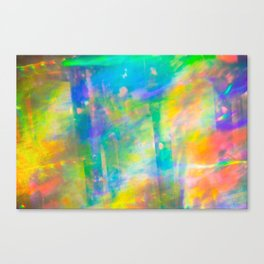 Prisms Play of Light 3 Canvas Print