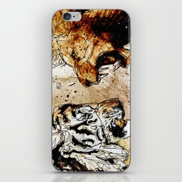 Lion vs Tiger iPhone Skin