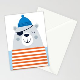 Salty Bear Stationery Cards