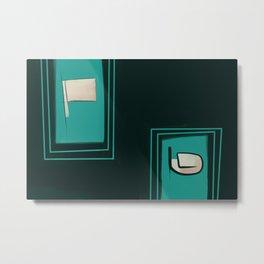 Hedonic Metamorphosis Metal Print