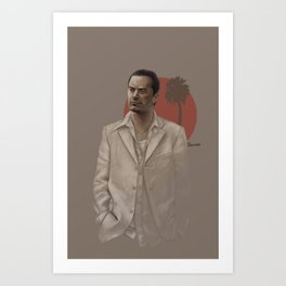 Mike Patton Art Print