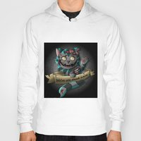 gore Hoodies featuring Chesire cat gore by trevacristina