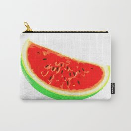 Watermelon, Summer Poster, Summer T-Shirt, white version Carry-All Pouch
