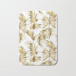 Golden palms Bath Mat