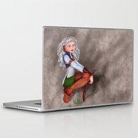 tesla Laptop & iPad Skins featuring Tesla by Thedustyphoenix