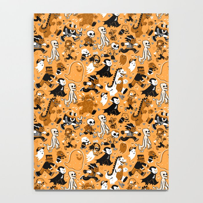 Monster March (Orange) Notebook