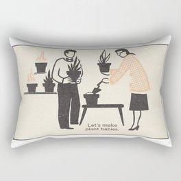 Plant Babies Rectangular Pillow