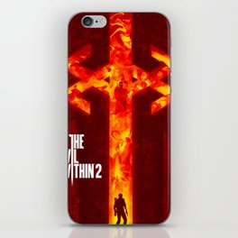 The Evil Within 2 iPhone Skin