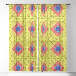 Suspiria Stained Glass Sheer Curtain