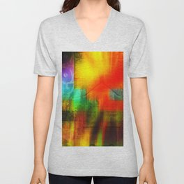 Spectrum Orange Unisex V-Neck