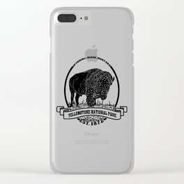 Yellowstone Emblem Clear iPhone Case