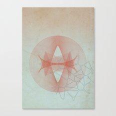 Abstract Scene - Sun Canvas Print