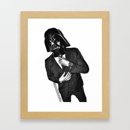 Darth Banker Framed Art Print