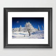 New Winter Day  Framed Art Print