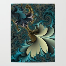 Birds of a Feather Fractal Poster