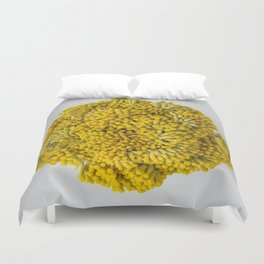 curry flowers II Duvet Cover