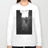 edinburgh Long Sleeve T-shirts featuring Edinburgh by Jane Lacey Smith