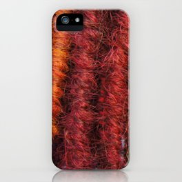Maple & Rust iPhone Case