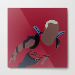 Aqualad Minimalism Metal Print