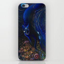 BLUE BRANCHES iPhone Skin