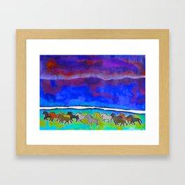Sky Ponies #31 Framed Art Print